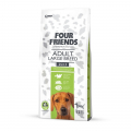 Meldgaard Four Friends Adult Large Breed hundefoder - til store hunderacer 12 kg